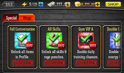 Punch Boxing 3D 1.0.9 Mod Apk-screenshot-3