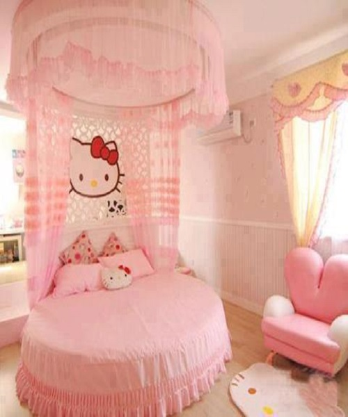 Chambre de bb fille hello kitty auto design tech for Chambre enfant fille hello kitty