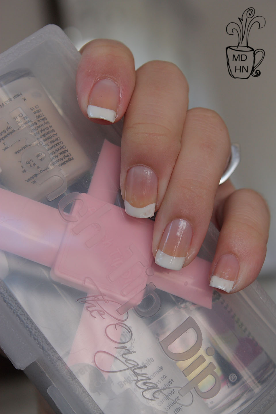 Mommy Does Her Nails: French Tip Dip Kit: Review (photo heavy)