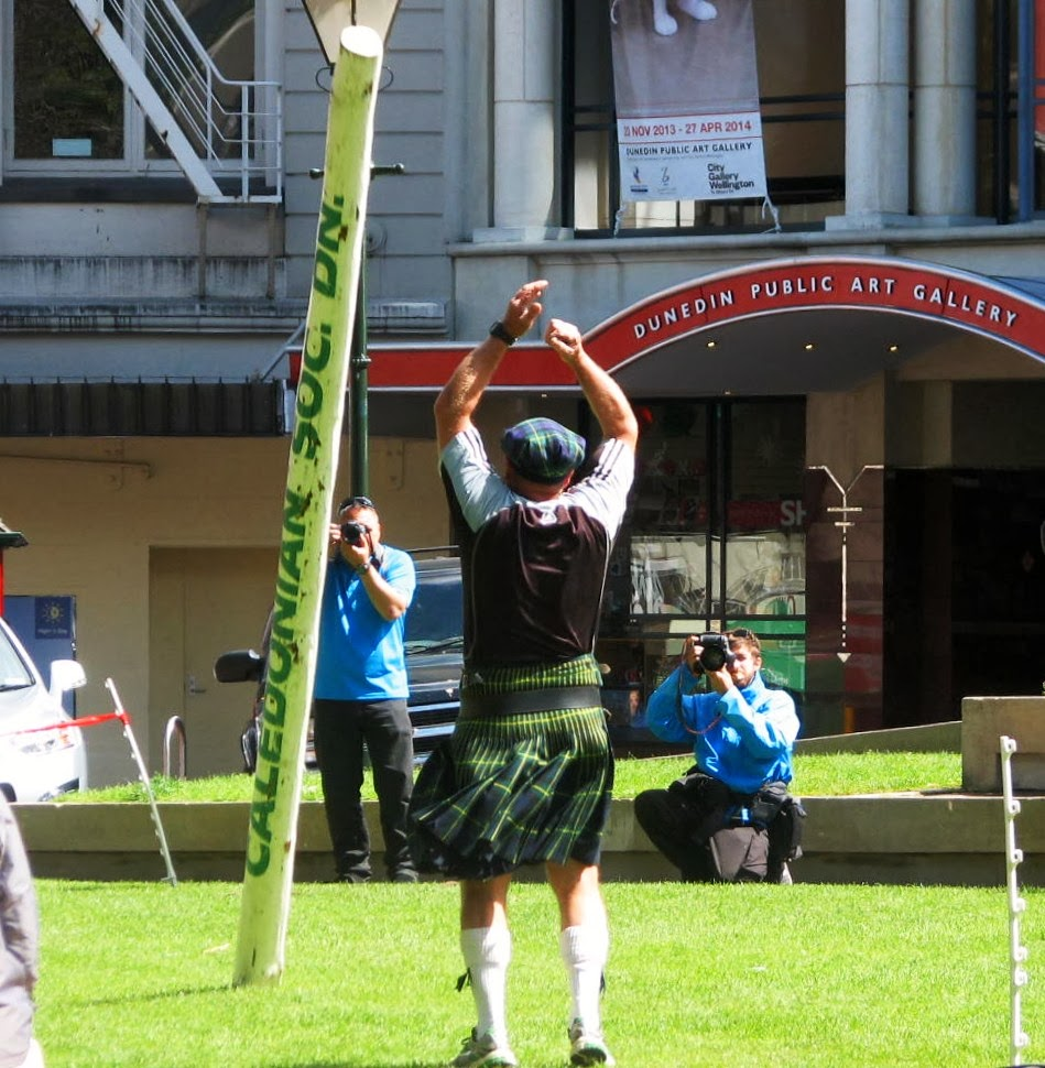 There Was The Tossing Of The Caber