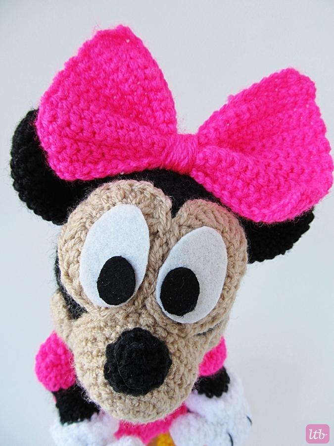 Amigurumi Pattern Minnie Mouse : {Amigurumi Minnie Mouse} - Little Things Blogged