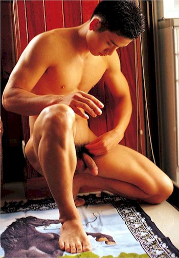 athleteman1 7 Door   More Hot Naked Thai Studs with their Big Asian Cocks