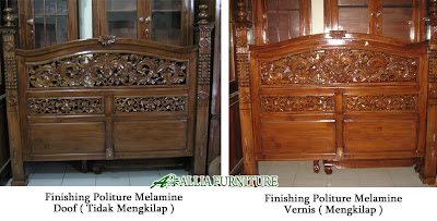 Finishing Politure Melamine Vernis & Doof