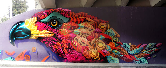 Farid Rueda just took a quick trip in Colombia to visit Bogota where he was able to work his magic on a new piece.