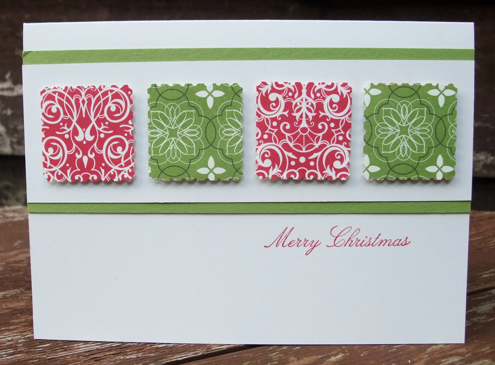 pandacream simple and elegant christmas cards - Elegant Christmas Cards
