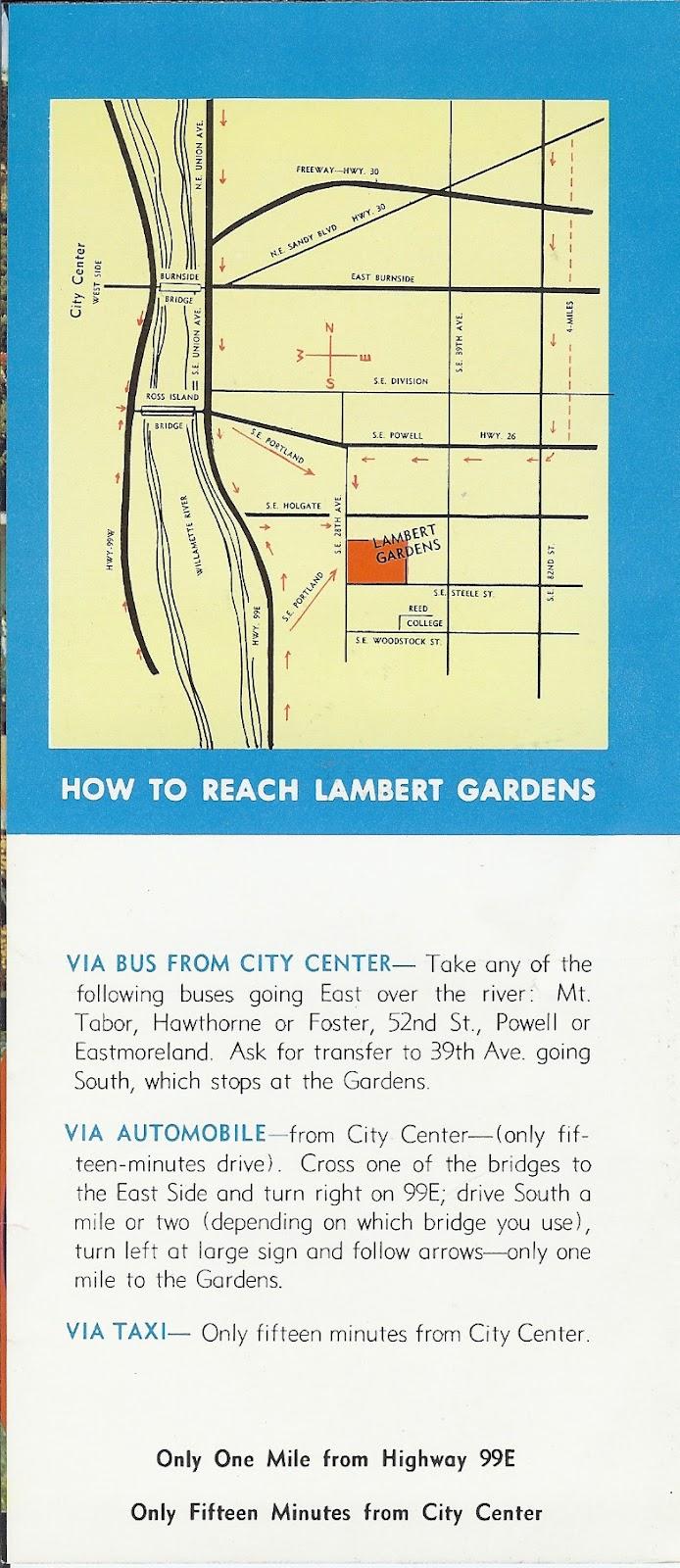 beech street gardens  lambert gardens late 20 u0026 39 s to 1968