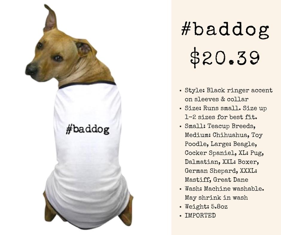 #baddog