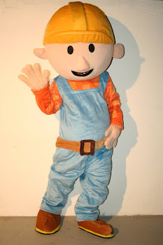Mascote Bob o Construtor
