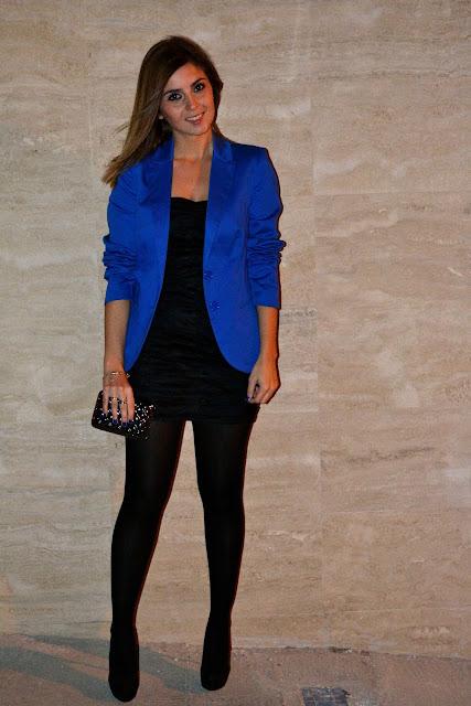 Outfit Blazer Azul Electrico | Uberlyon.com