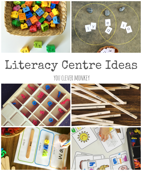 Inspiring Literacy Centre Ideas | you clever monkey