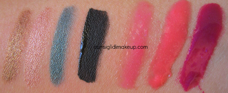 swatches sunkissed pearls elizabeth arden