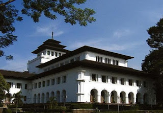 Gedung Sate di Bandung