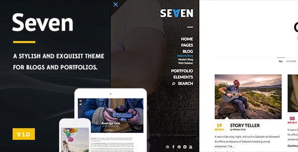 Stylish Blog Wordpress Theme