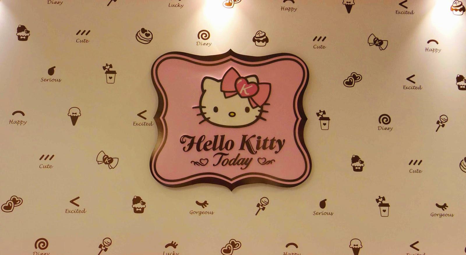 Cute Shanghai Hello Kitty Today Cafe