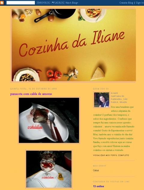 Visite Cozinha da Iliane