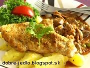 Dunajské morčacie prsia - recept