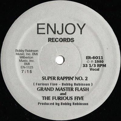 Grandmaster Flash & The Furious Five - Super Rappin' No. 2 [VLS] (1980)[INFO]