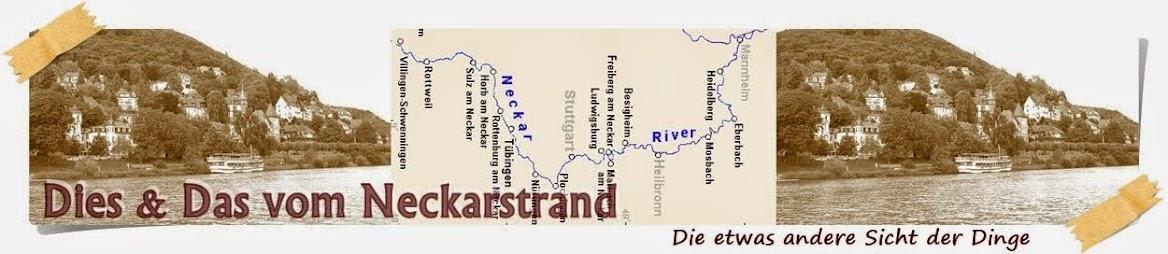 Dies und Das vom Neckarstrand