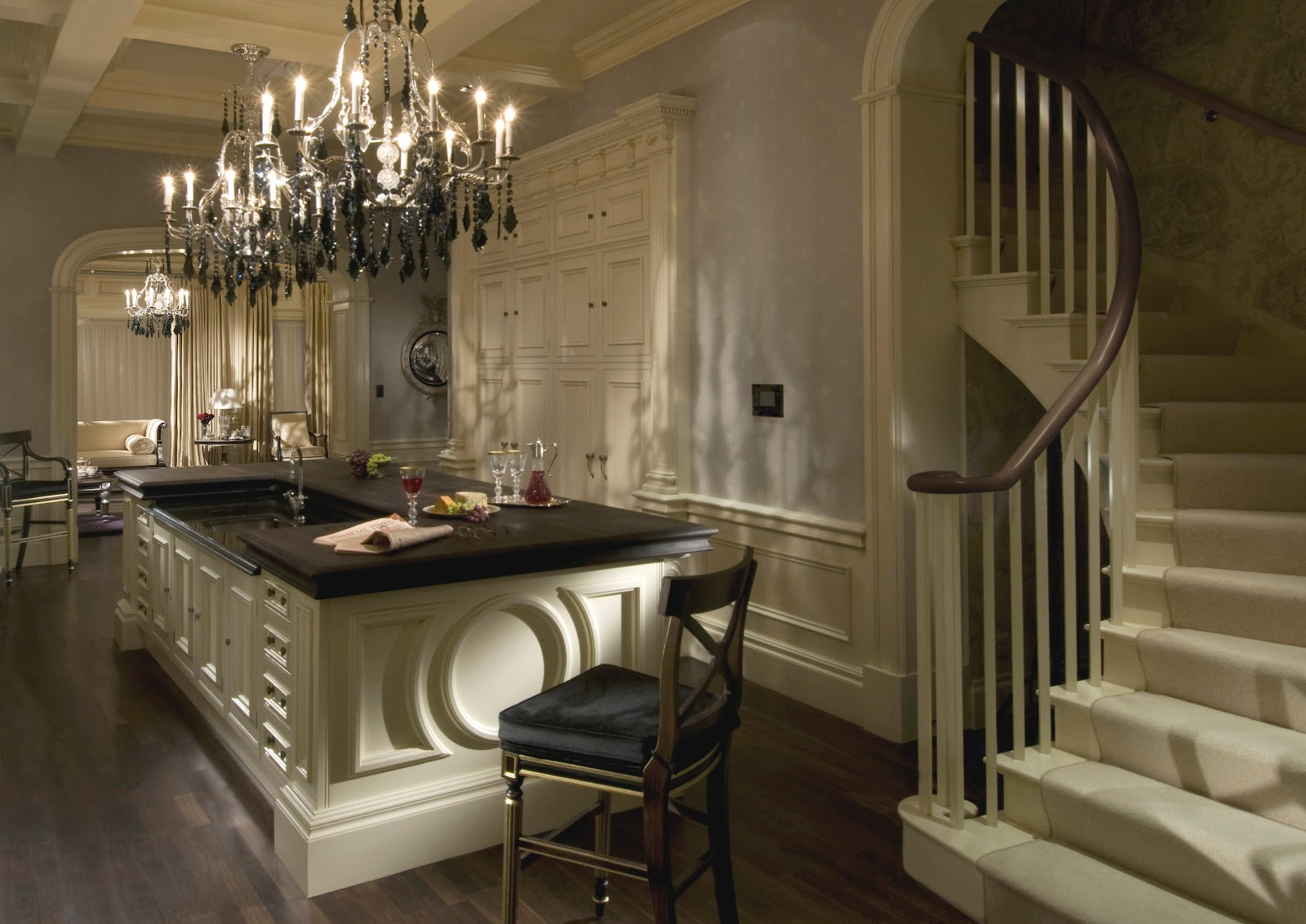 Tradition interiors of nottingham clive christian million pound project for Keuken landhuis