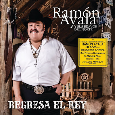 Ramon Ayala - Regresa El Rey (Disco Album Oficial) 2013