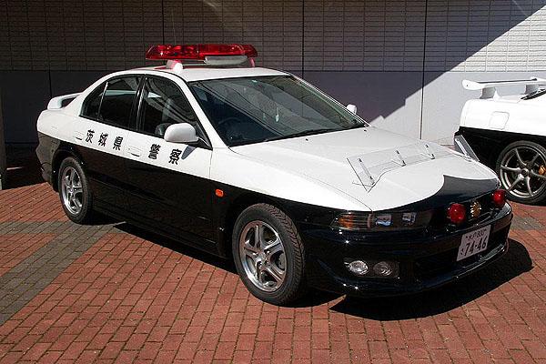 Mitsubishi Galant VR4 police  警察 japoński policyjny samochód