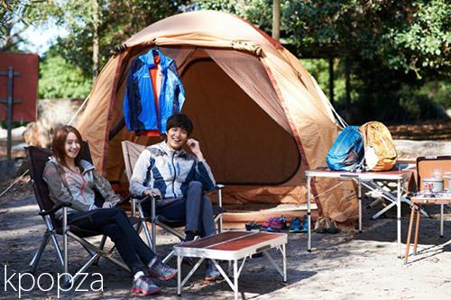 YoonA และ Lee Min Ho ในชุดกีฬาคอลเลคชั่นใหม่ ต้อนรับฤดูใบไม้ผลิ