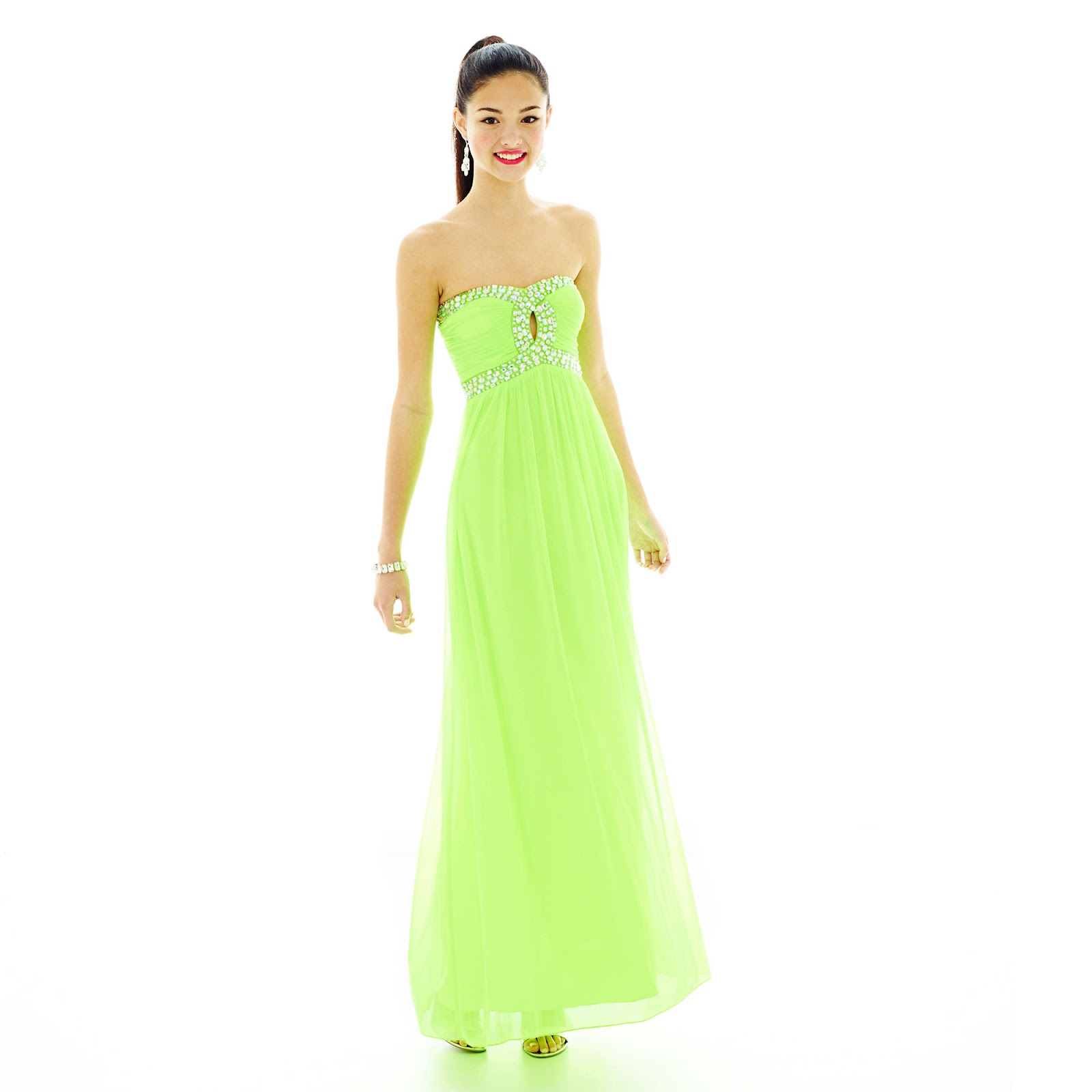 JCPenney Green Dresses