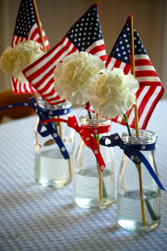 Heritage schoolhouse easy and simple patriotic for 4th of july party decoration