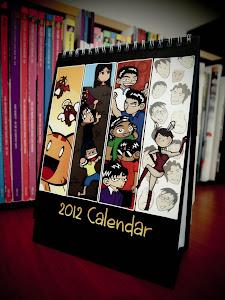 2012 Calendar - By Jian Goh, Ernest Ng, Pauline Low, Dan Khoo & Tan Wai Kit