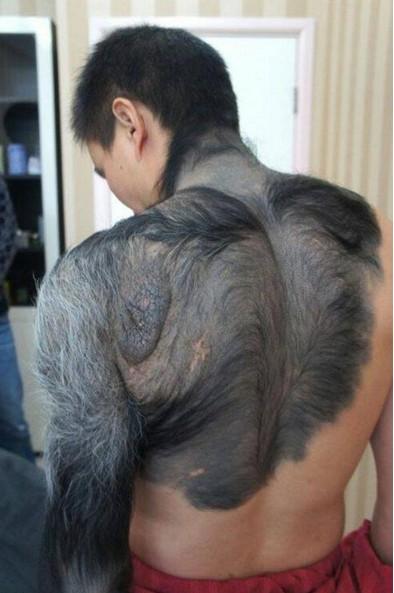 Manusia dengan Bulu Serigala ditemukan di China