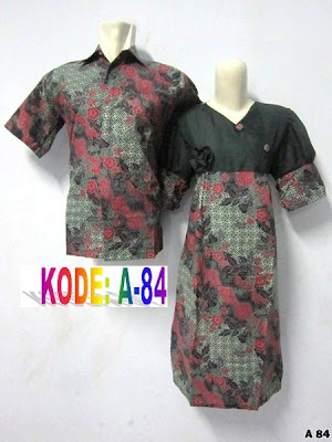 dress batik lebaran couple