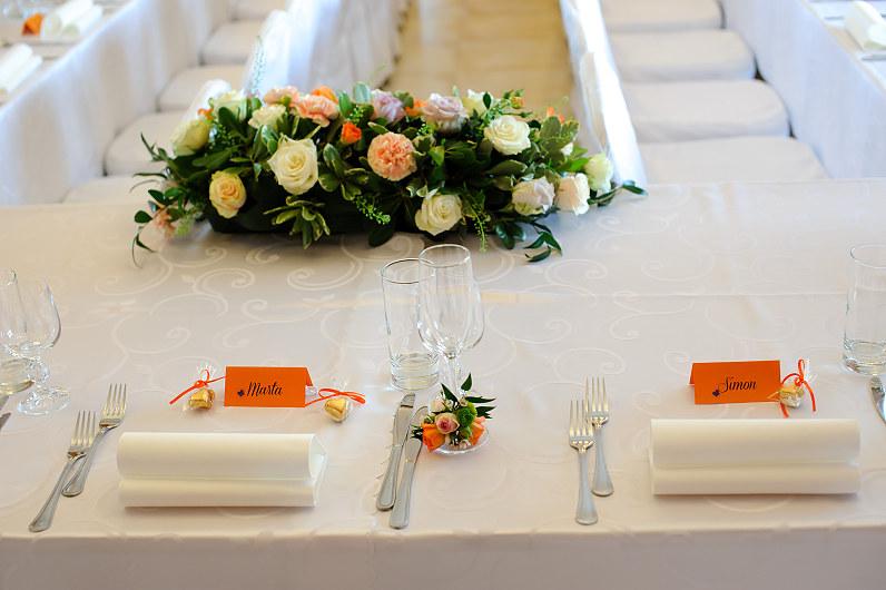 Vestuvių stalo kortelės