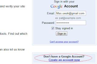 Manfaatkan Google webmaster tool