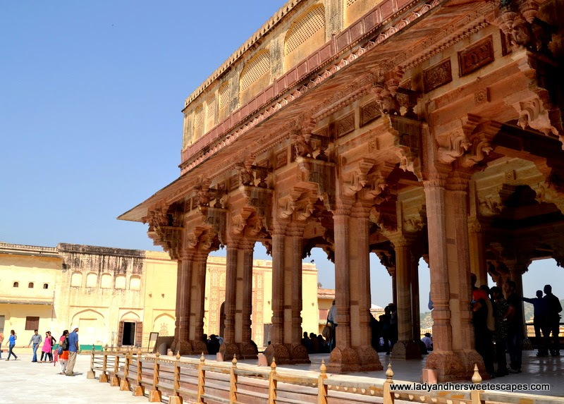 Diwa-i-Am in Amber Fort Jaipur