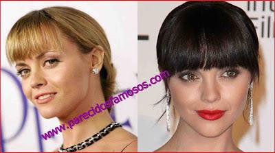 Christina Ricci antes y después
