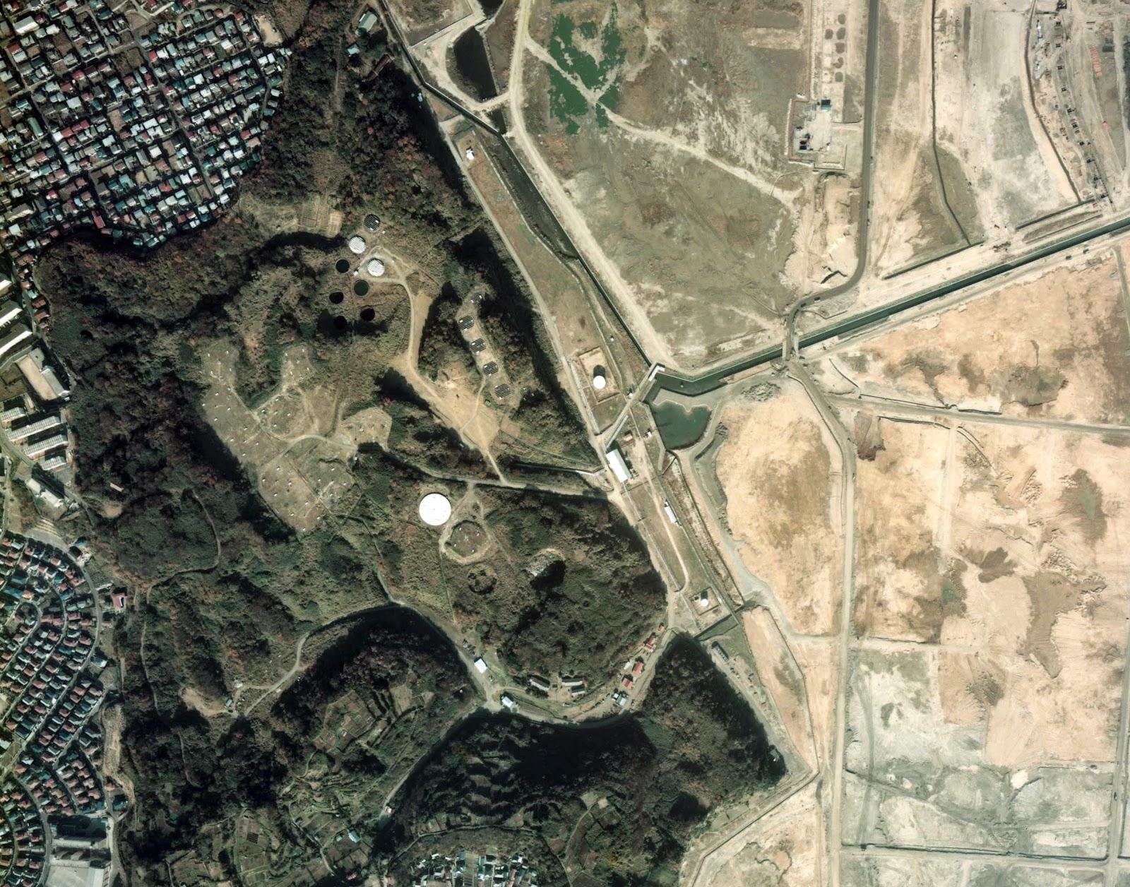 公園 施設 跡地 小柴 貯油
