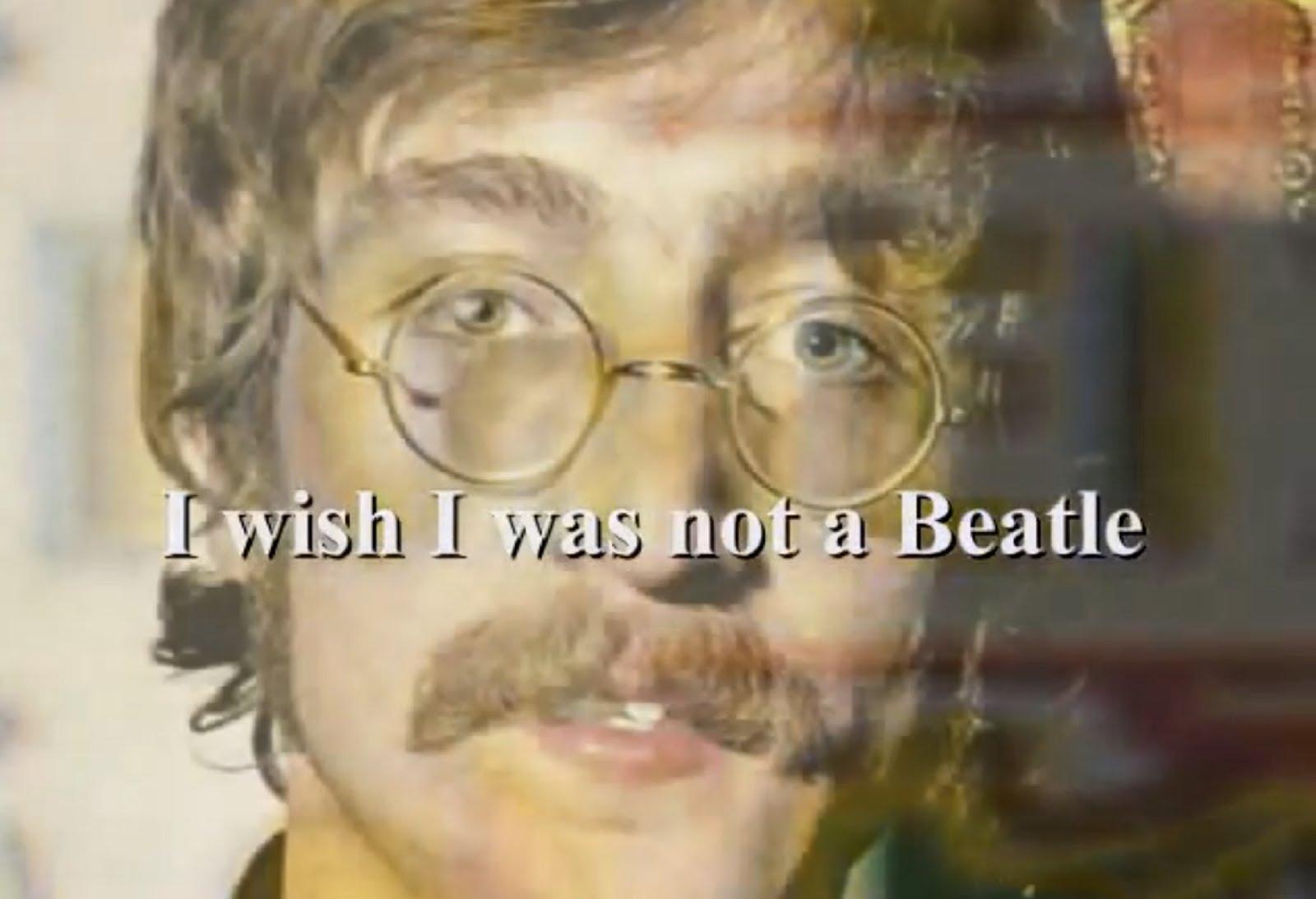 BEATLE JOHN LENNON'S REGRET