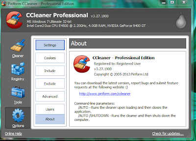 CCleaner Professional + Business Edition v3.27.1900