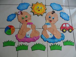 Bebês em E.V.A