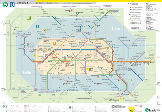 Berlin UBahn Transportation Guide