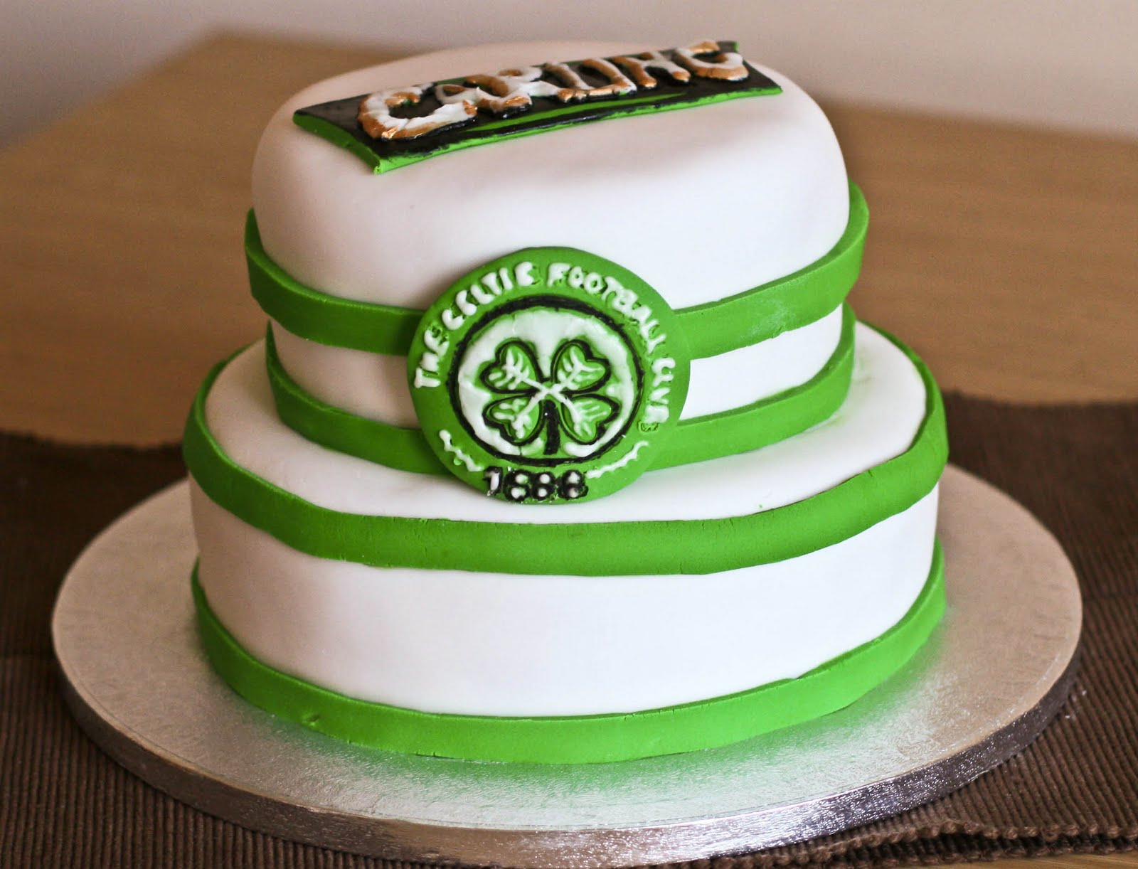 Celtic Football Club Cake Topper