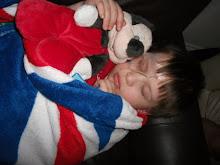 Post-op Sleepy Leo