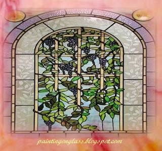 Flower Pattern Stained Glass Window Patterns, Flower Pattern