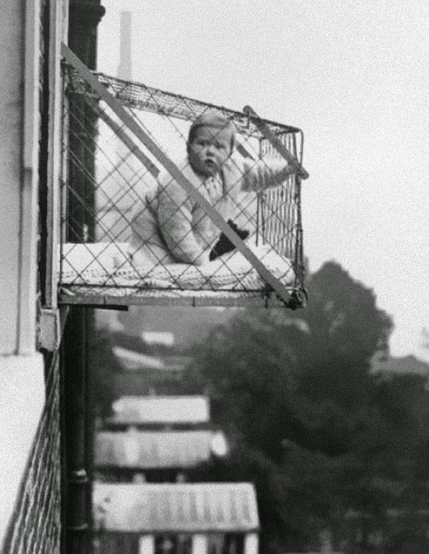 Cajas-Balcón para niños de 1930