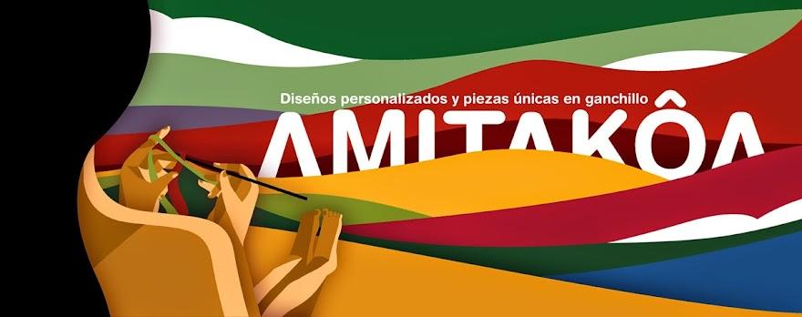 AMITAKOA, diseños personalizados y piezas unicas en ganchillo.