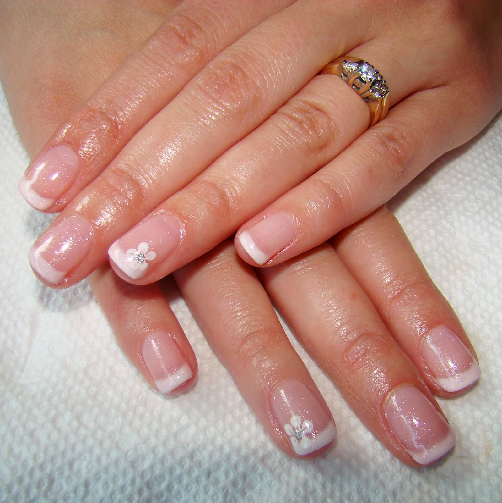 Gel French Tip Nails