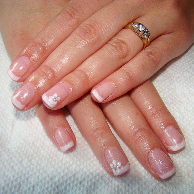 pretty nails and tea french manicure