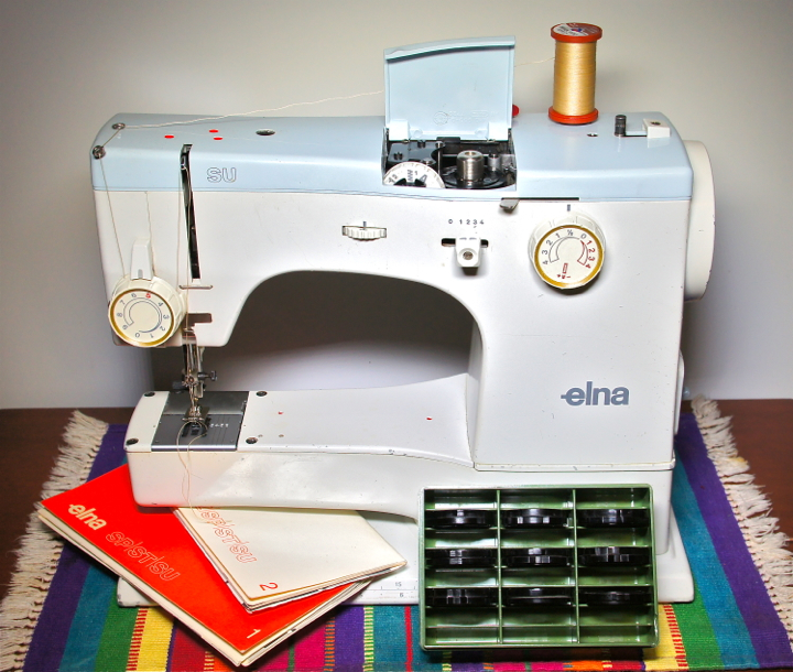 elna sewing machine cams