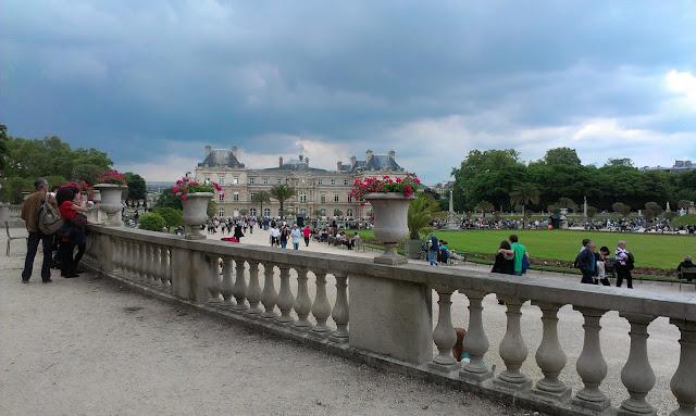Paris France tourisme voyage Jardins Luxembourg