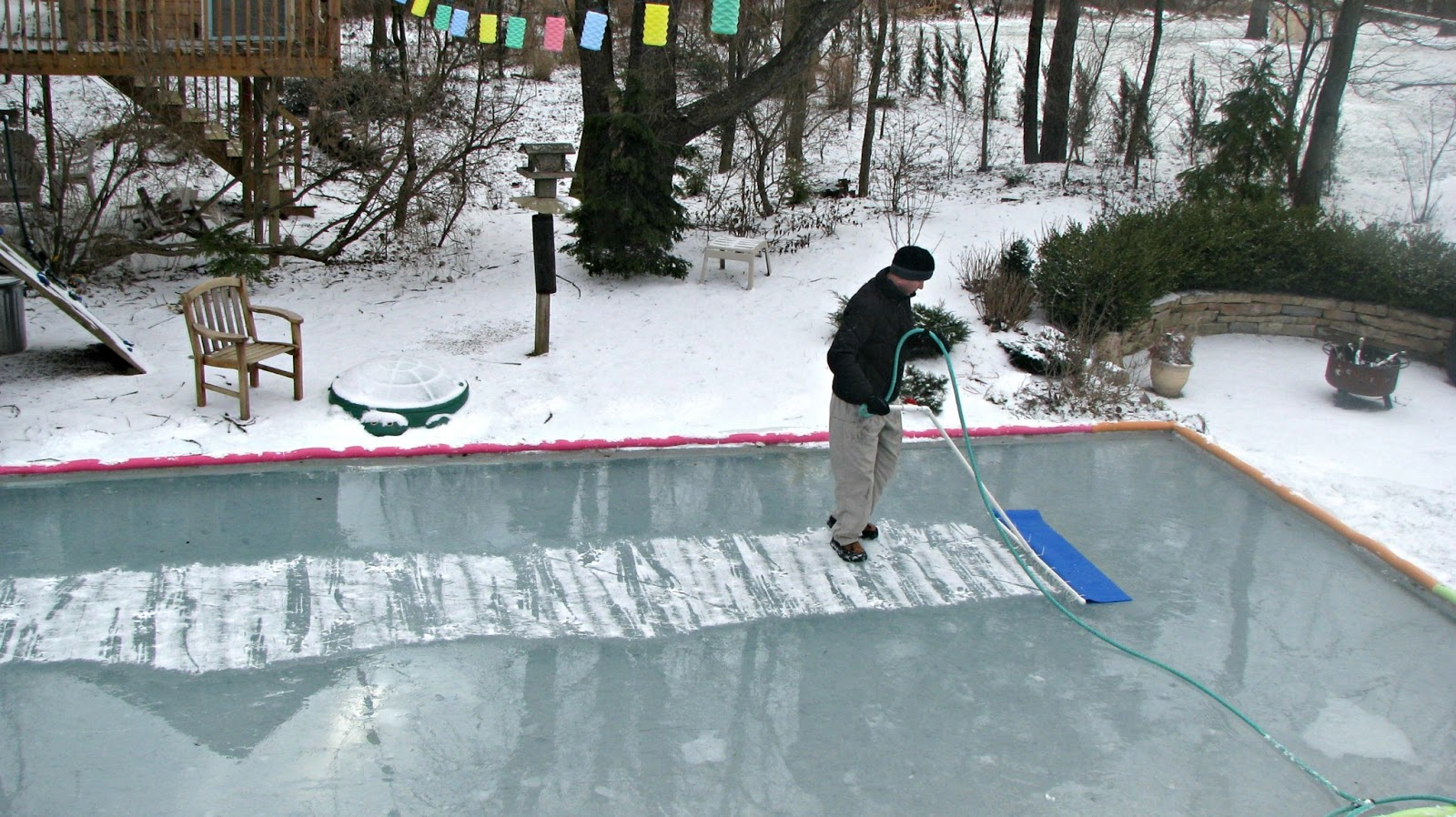 Backyard Rink Zamboni : Backyard Hockey Rink Zamboni Musings from kim k ice time!!